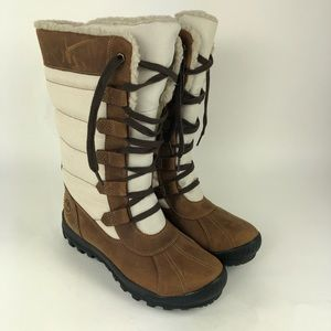 Timberland Mt Hayes Tall Waterproof Leather Boots